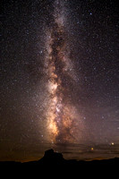 Milky Way over Canonlands