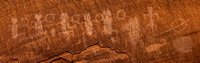 Pictographs and Petroglyphs Panorama
