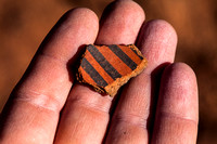 Red Painted Pottery Sherd