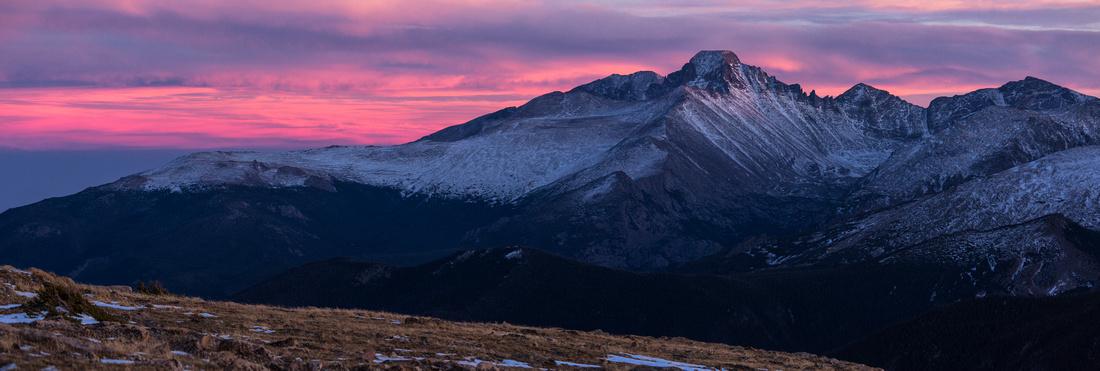 Last Alpine Sunset 2014