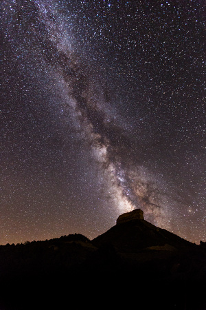Point Lookout and Milky Way