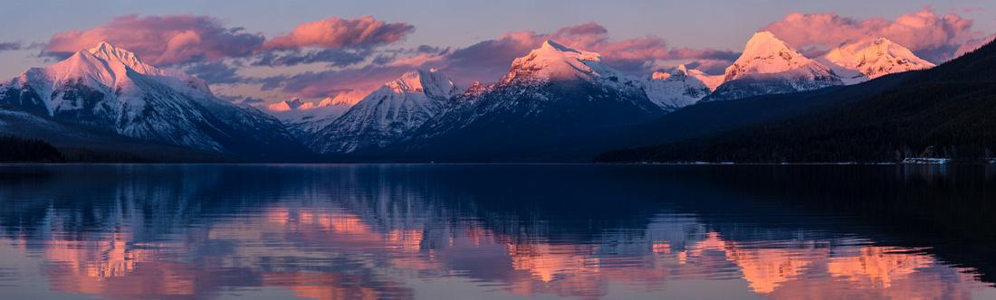 Lake McDonald Sunset 2.22.16