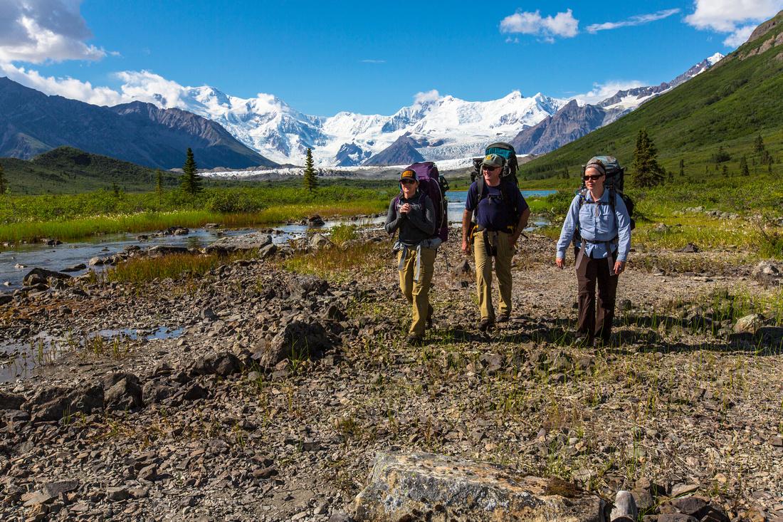 Backpackers Near Lake 2