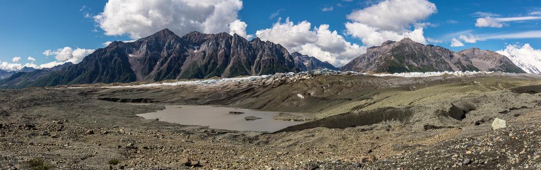 Kennicott Glacier Lateral View - Donoho Basin