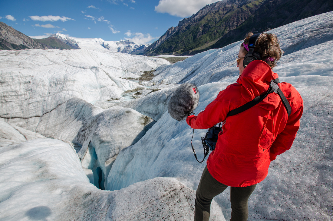 Recording the Sounds of the Root Glacier