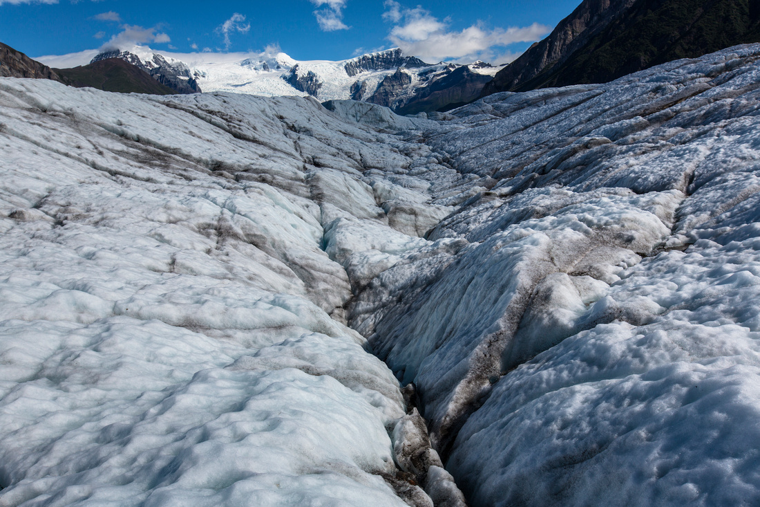 Views from the Root Glacier