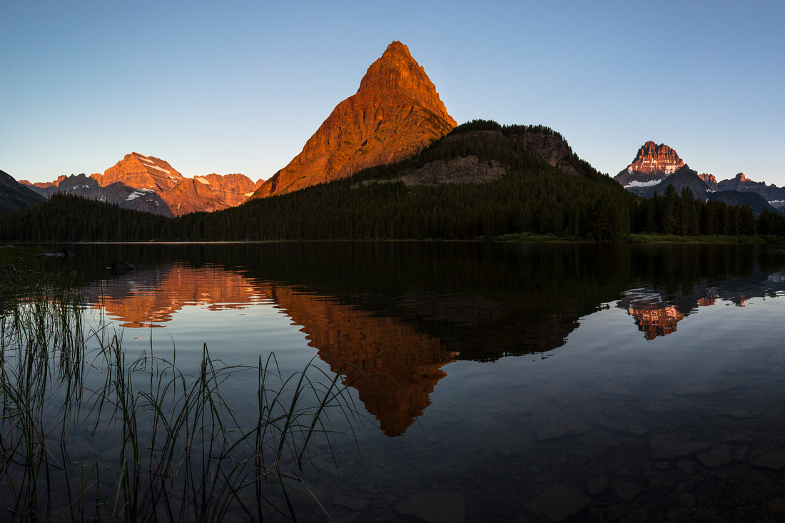 Swiftcurrent Lake Sunrise
