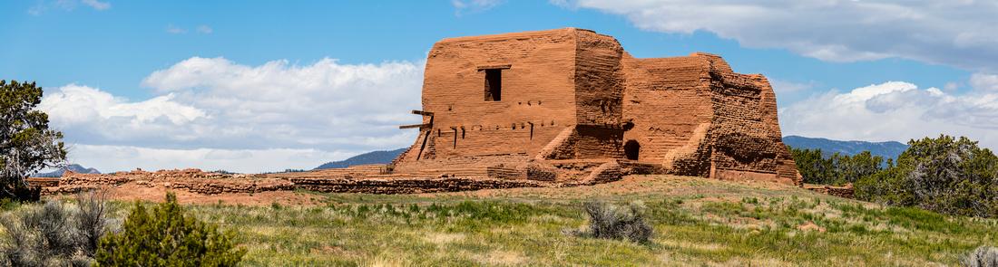 Pecos Mission Panorama