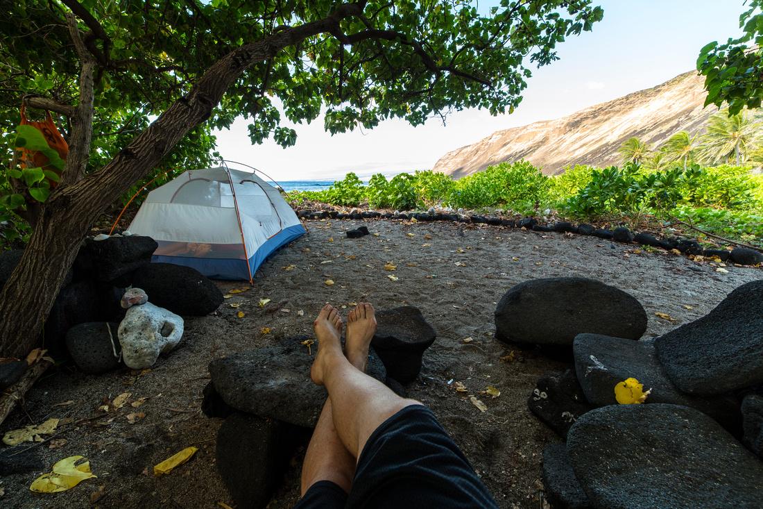 Halape Campspot