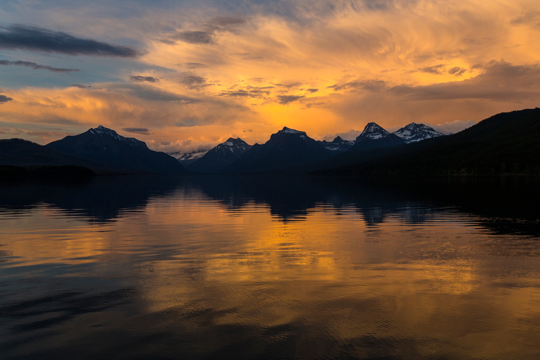 Lake McDonald Sunset - 5:26:15