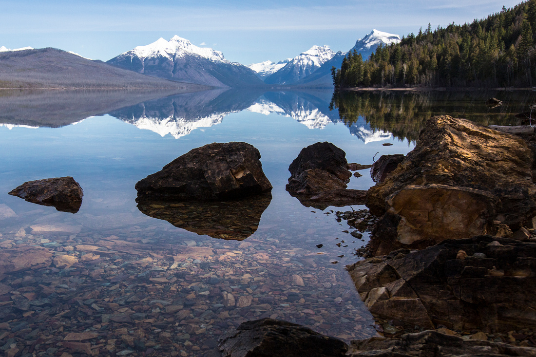 Morning Reflections at Lake McDonald