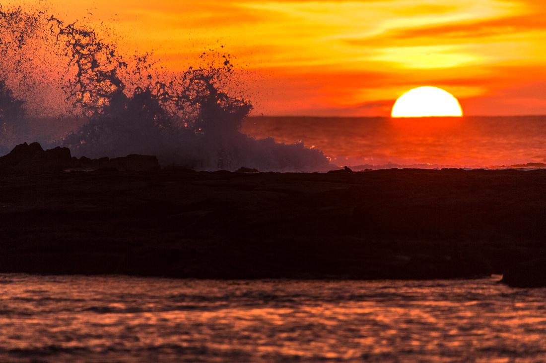 Pu'uhonua O Honaunau Sunset (2)