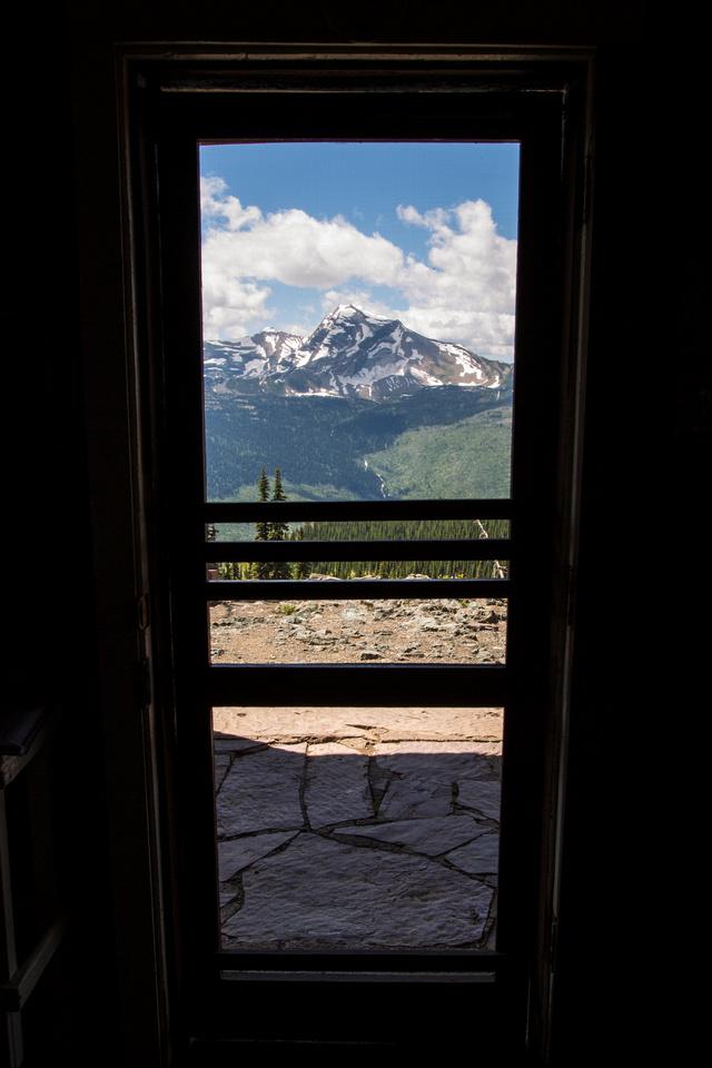 View From the Granite Park Chalet Front Door