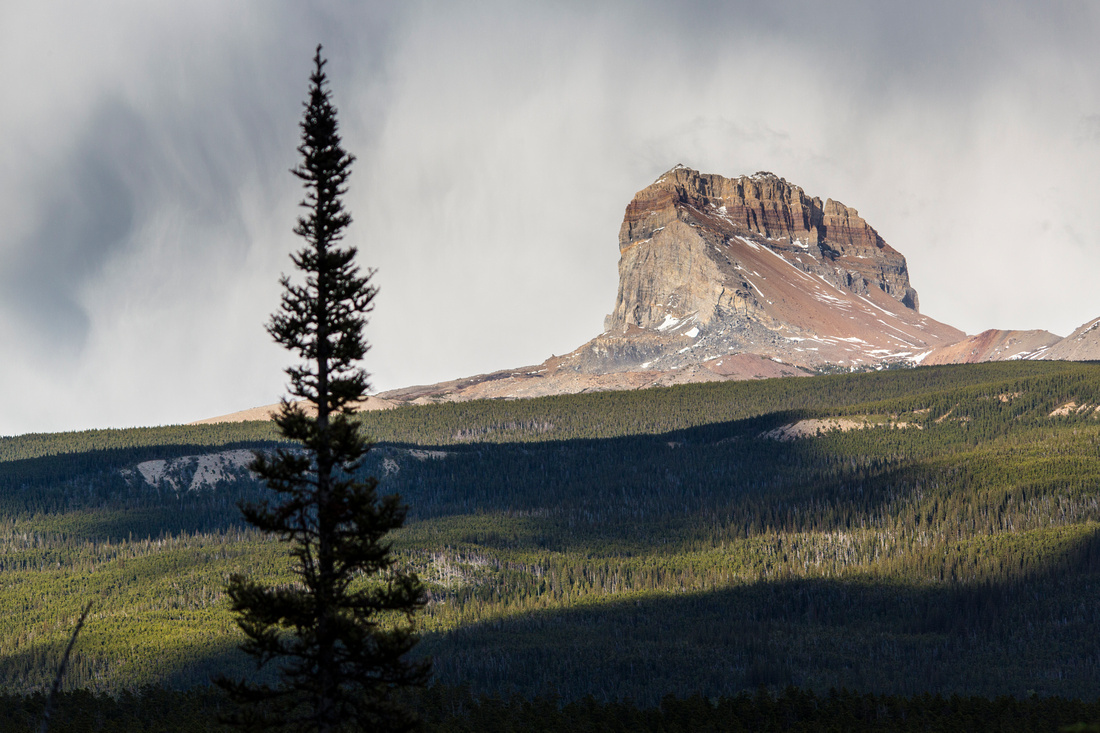 Stormy Chief Mountain
