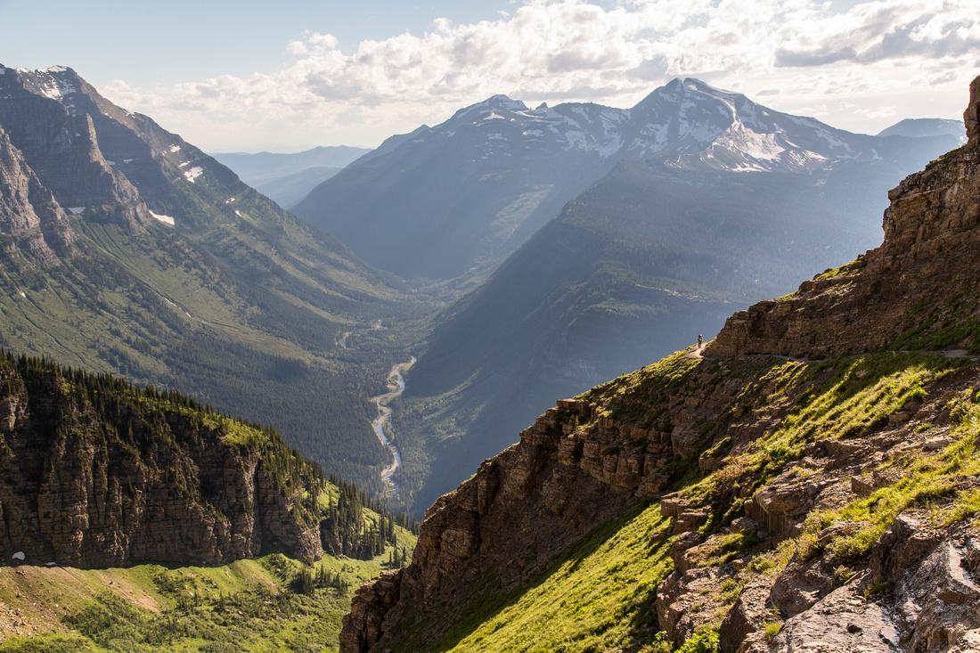 Corrie and Heavens Peak