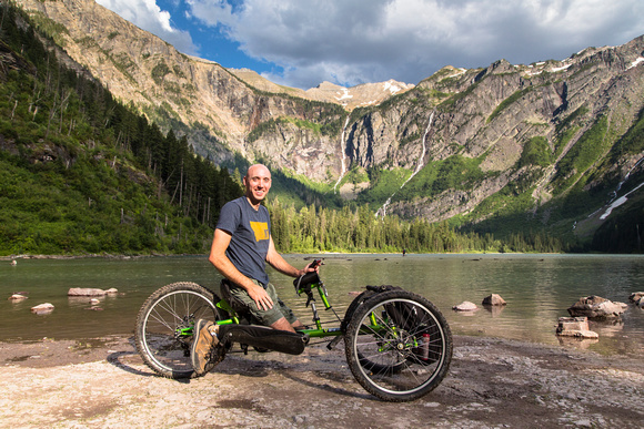 Avalanche Lake Hike with Off-road Wheelchair 13