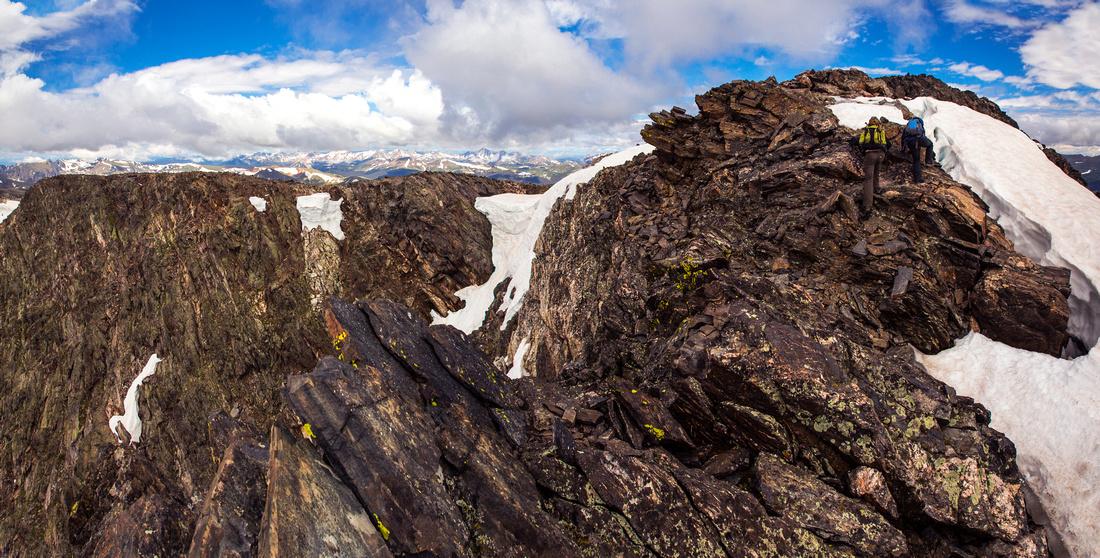 Ypsilon Summit Ridge