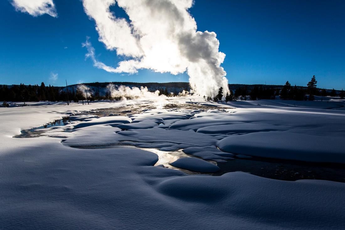 Daisy Geyser Eruption