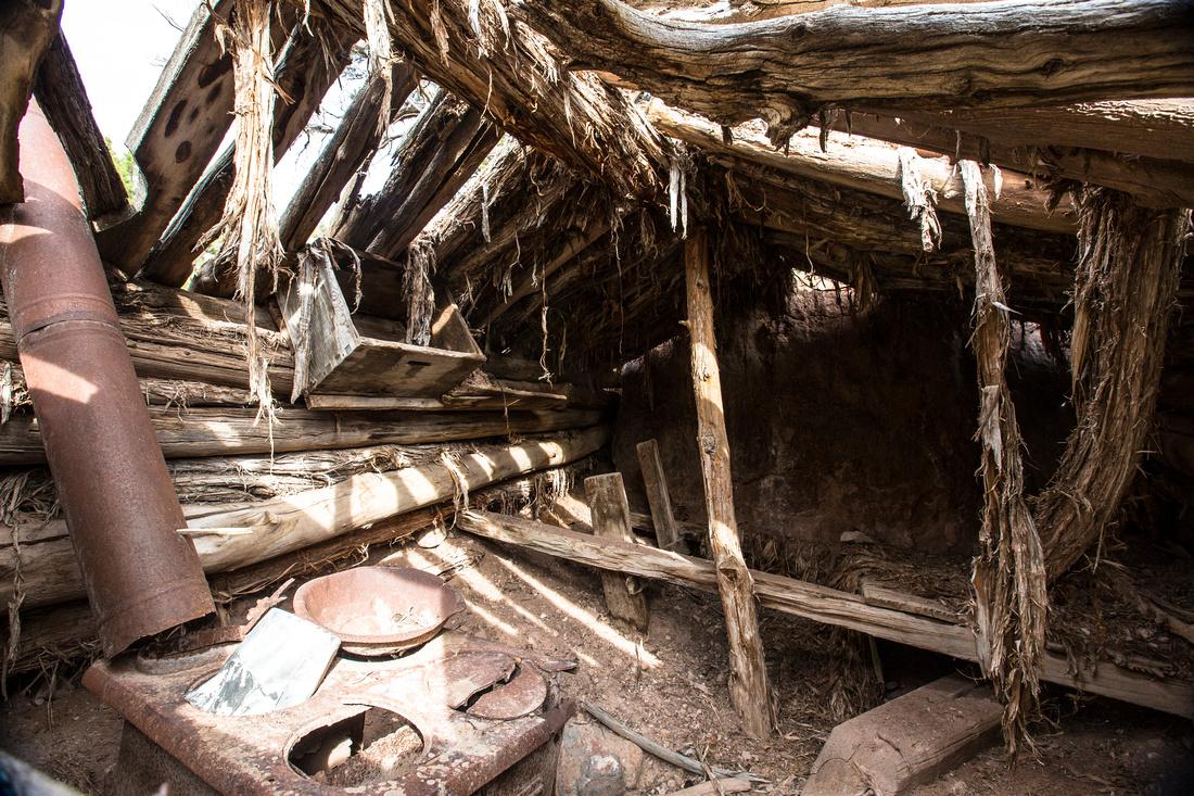 Inside Stubs Cabin