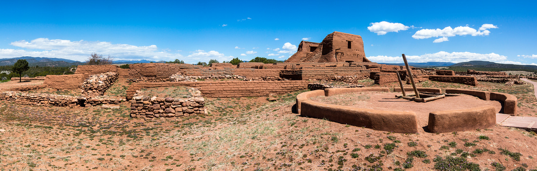 Pecos National Historic Park Panorama