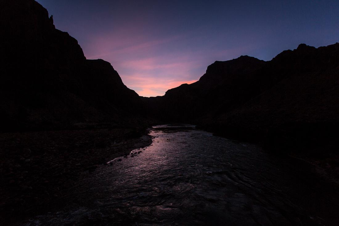 Last Light on the Colorado