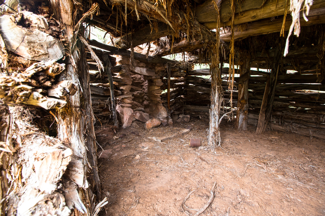 Matt Rash Cabin Interior