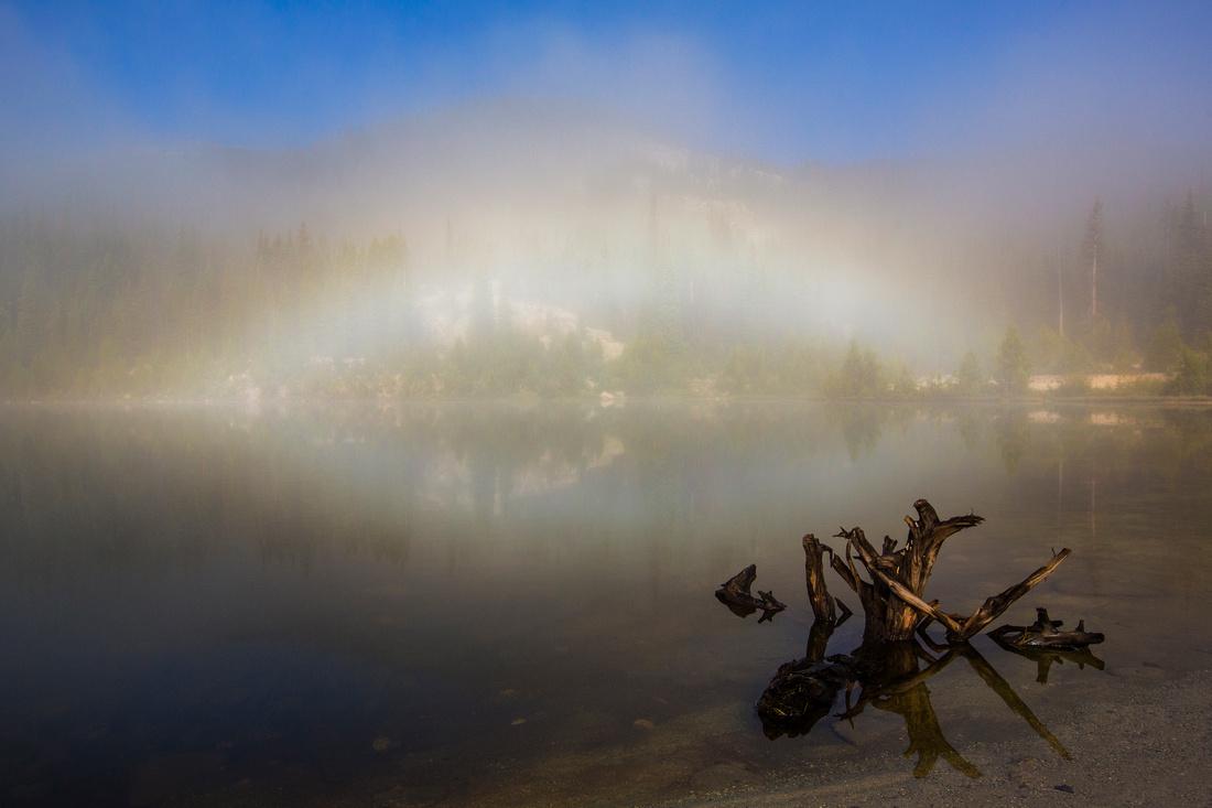Fogbow on Sandbeach