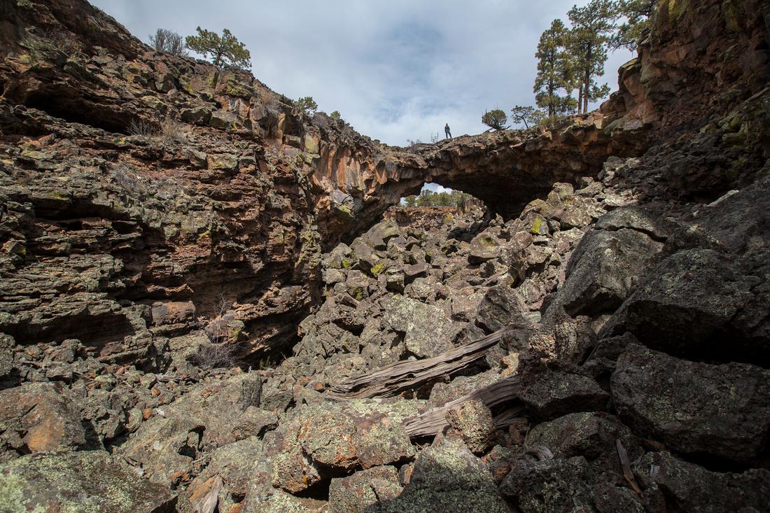 Lava Tube Bridge