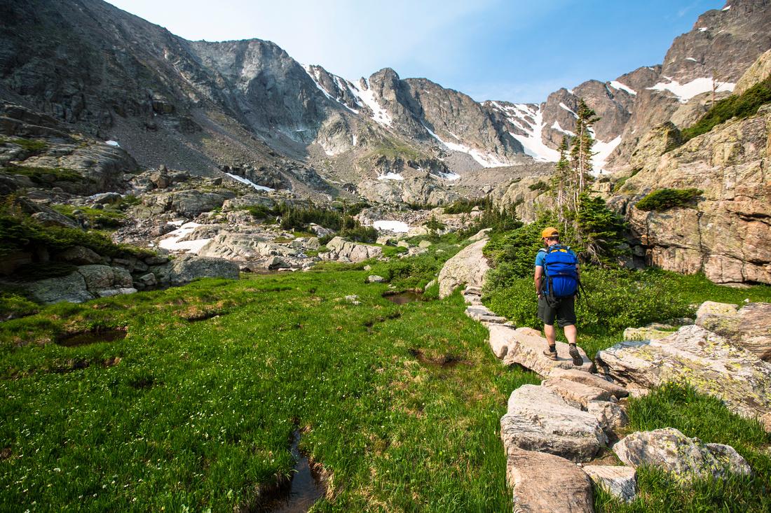Trail to Sky Pond