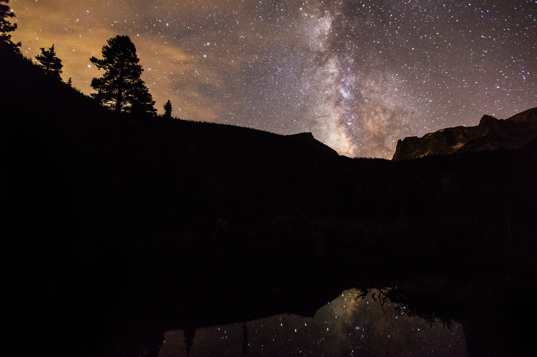 Milkyway over Fern Lake