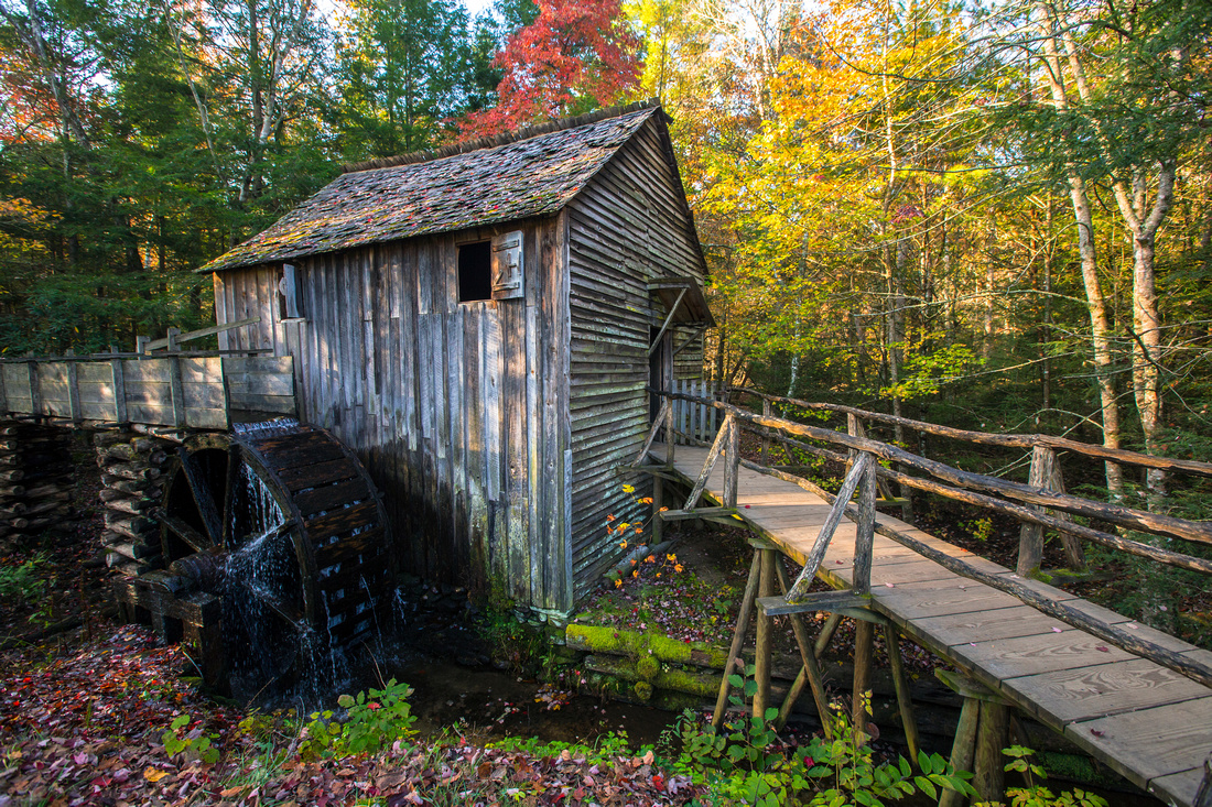 Cable Mill in Fall