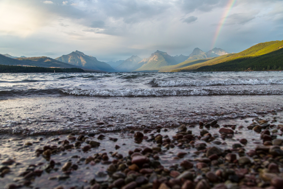 Rainbow at Lake McDonald for Centennial InstaMeet (2)