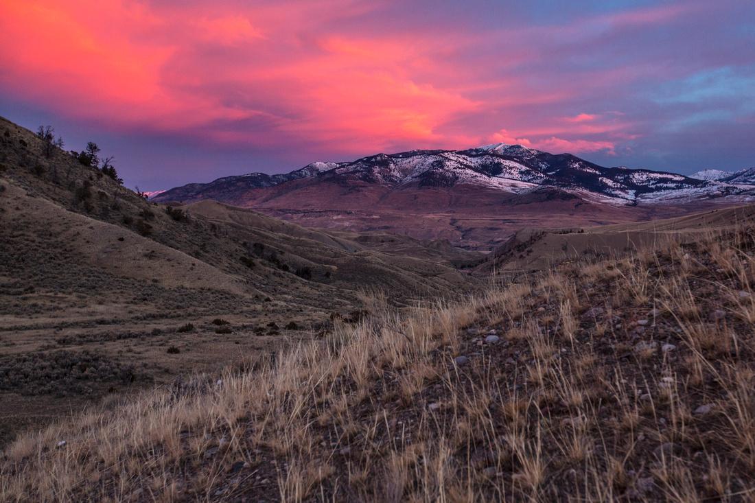 Lava Creek Trail Sunrise