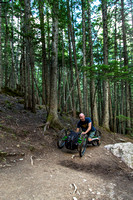 Avalanche Lake Hike with Off-road Wheelchair 06
