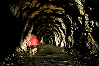 Old Gold Mining Tunnel
