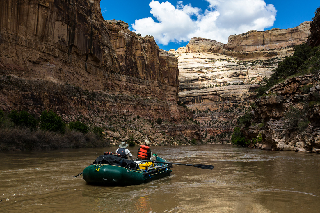 Rafting in Lower Yampa Canyon (4)