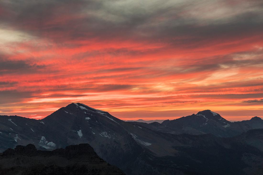 Alpine Sunset over Heavens Peak (3)