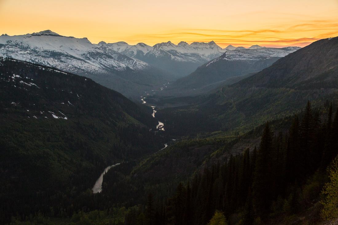McDonald Valley Sunset Upvalley