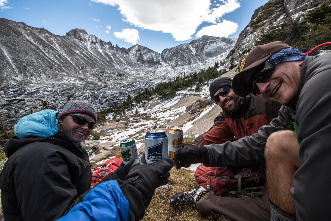 Beers at Solitude Lake