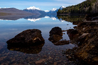 Morning Reflections at Lake McDonald (2)