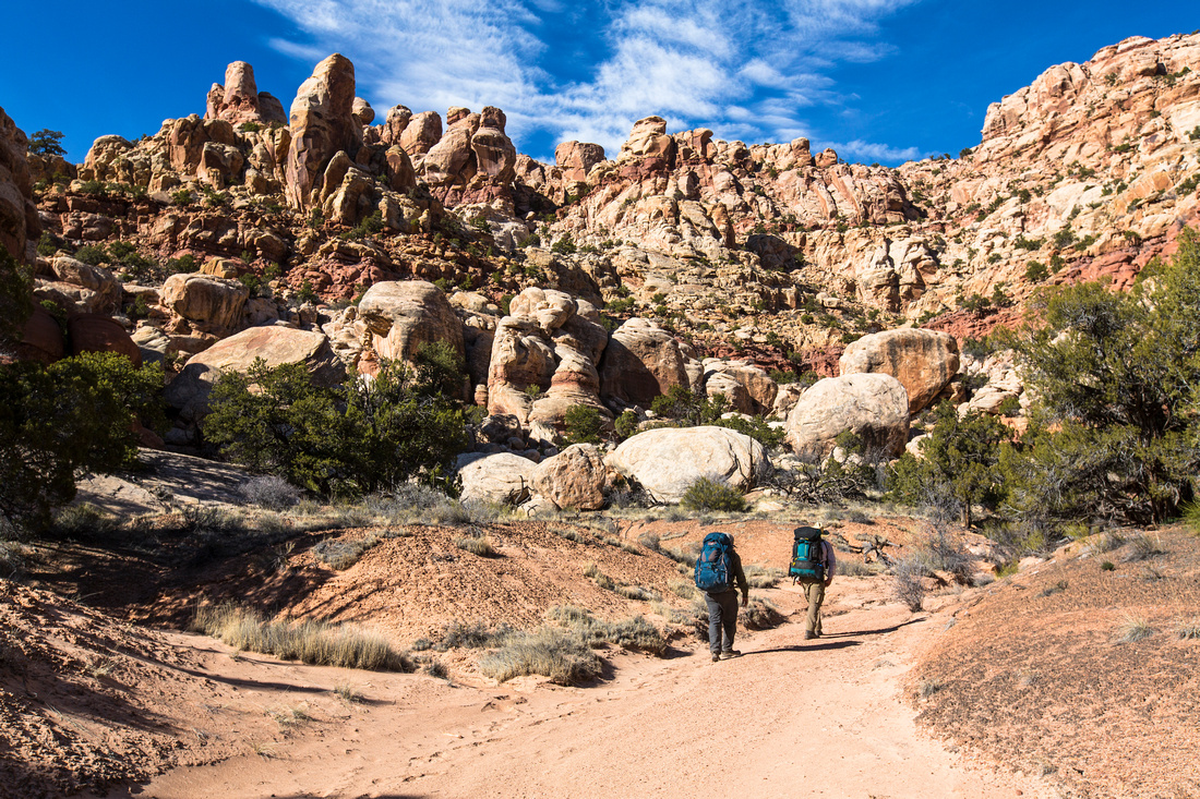 Hiking in Starvation Pocket