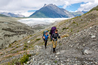 Backpackers on the Root Glacier Trail (2)