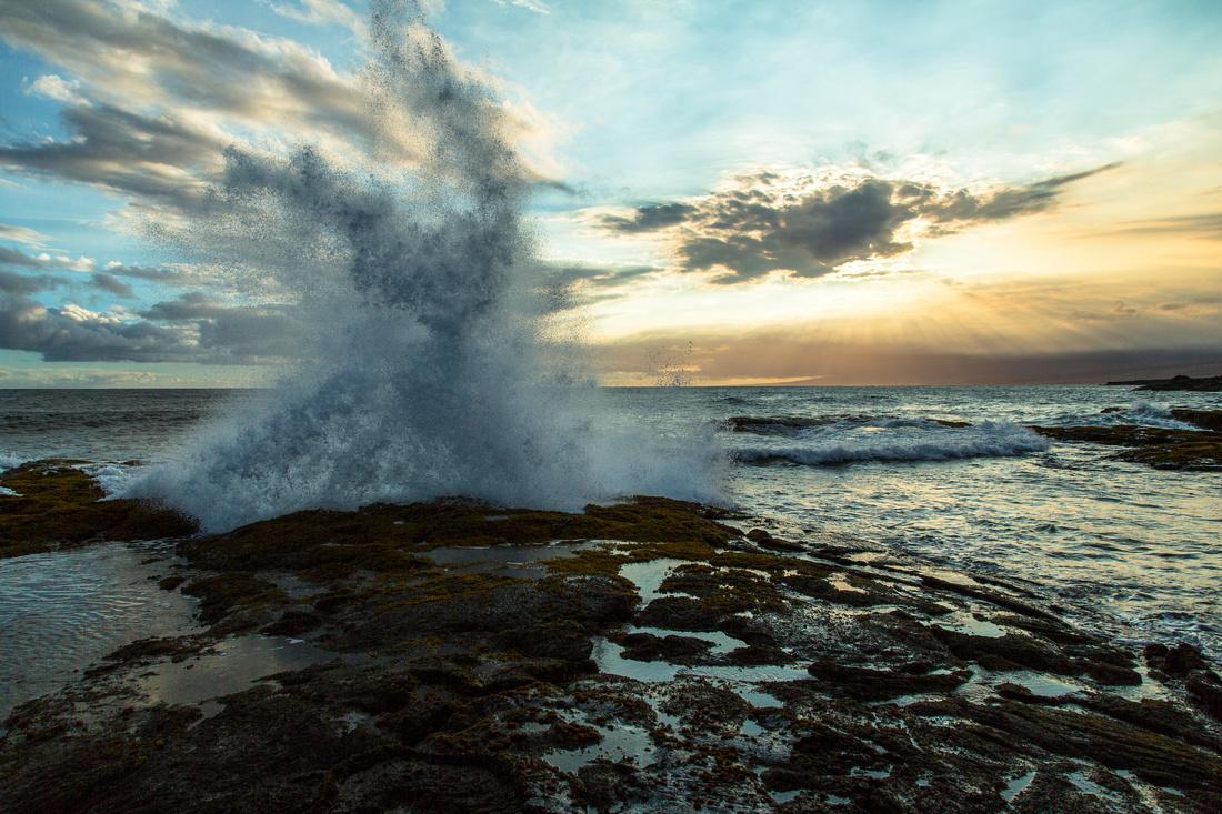 Evening Light at Apua Point Tidal Flats (2)