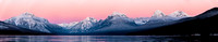 Lake McDonald Post Sunset Panorama 12.14.15
