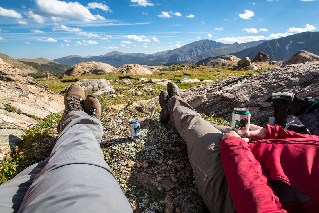 Tundra Beers in Wild Basin