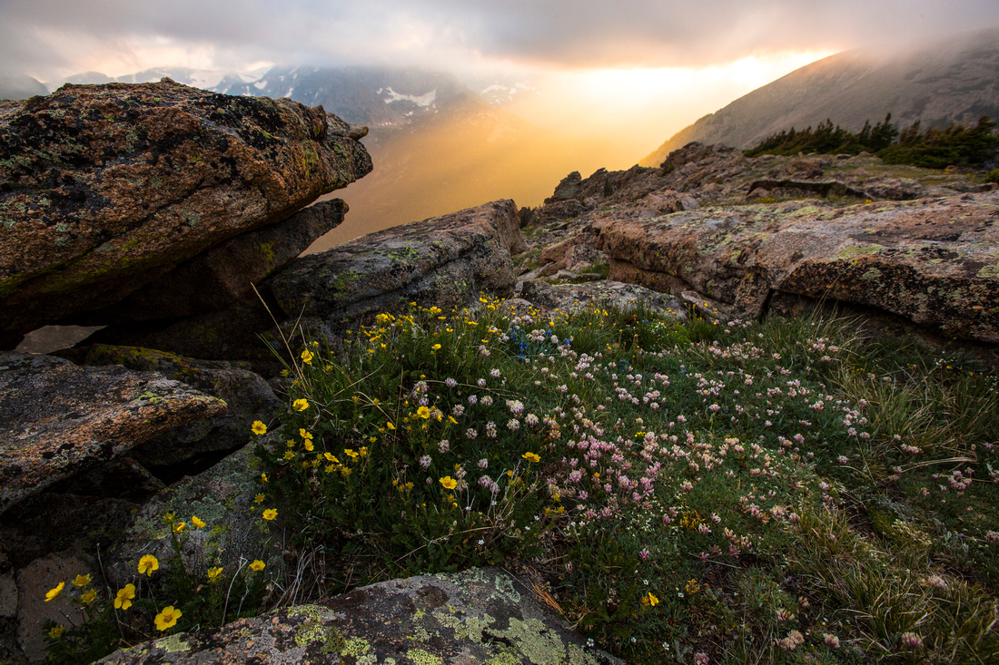 South Ute Trail Ridge Sunset (2)