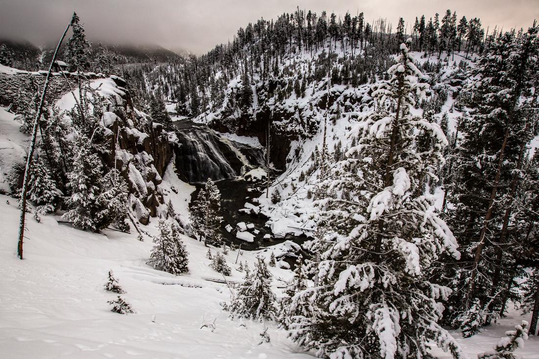 Snowy Gibbon Falls