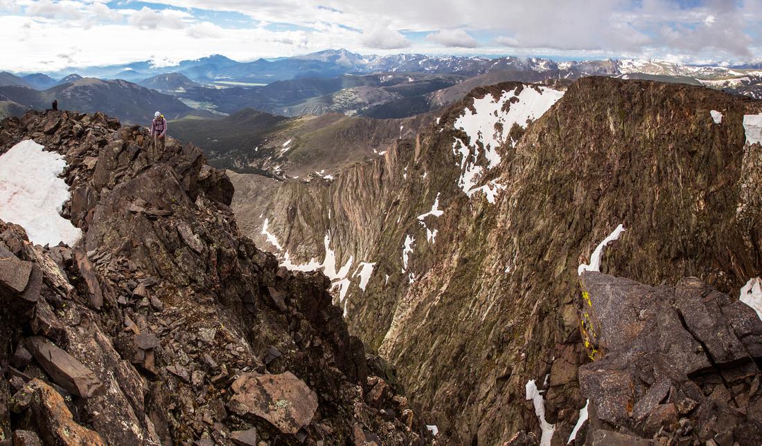 Ypsilon Summit Climbers