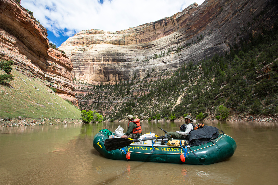 Rafting in Lower Yampa Canyon (5)