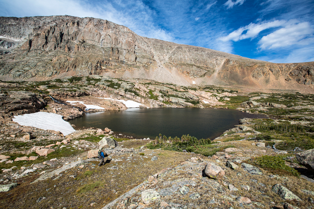 Lion Lake No. 2 and Chiefshead Peak